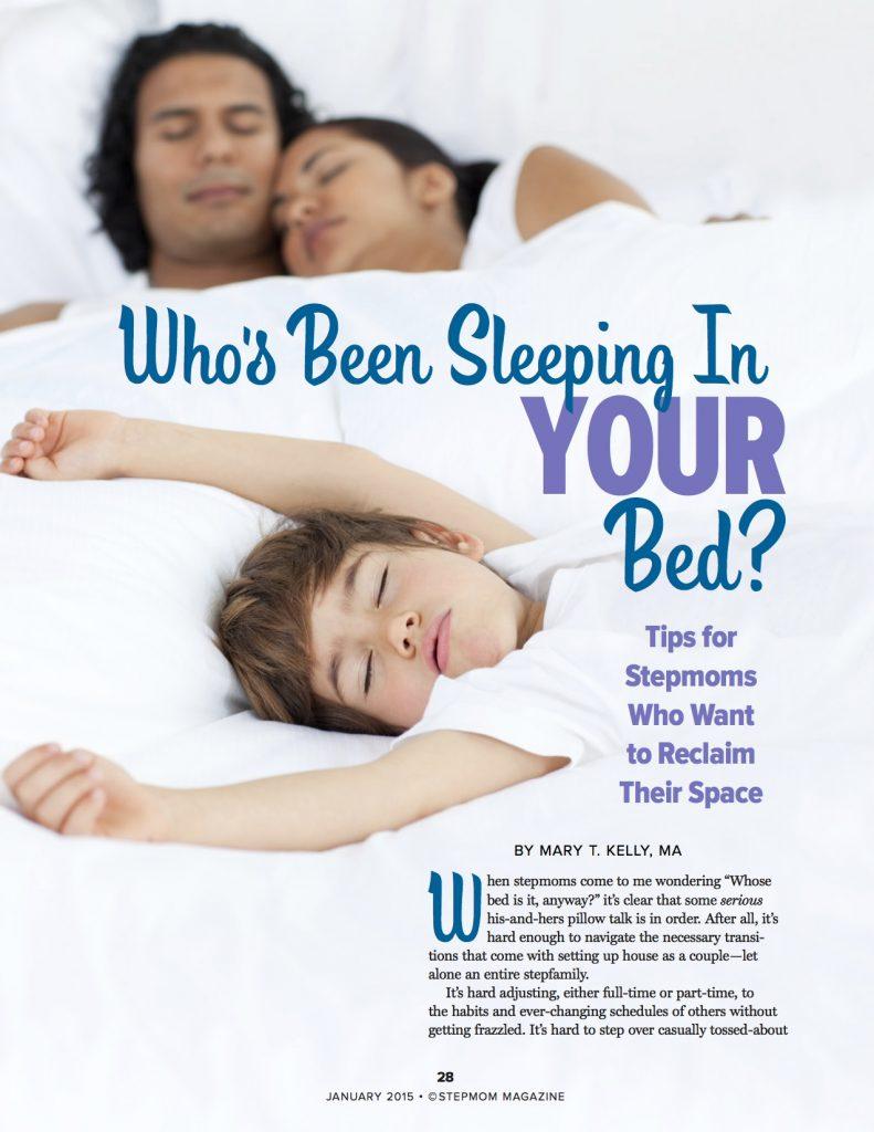 Stepchildren Co-sleeping - StepMom Magazine