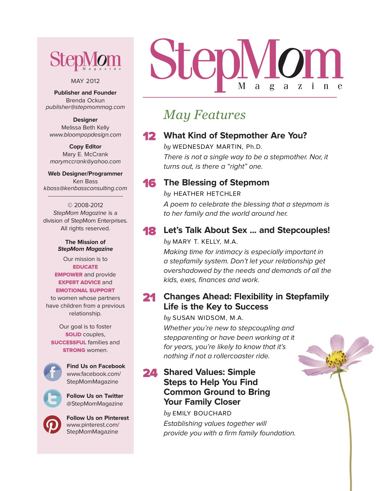 May 2012 Issue - StepMom Magazine