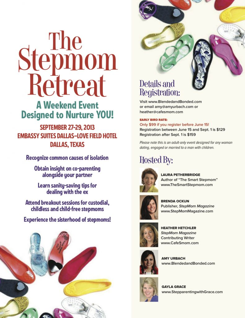 StepMom.Retreat.Ad