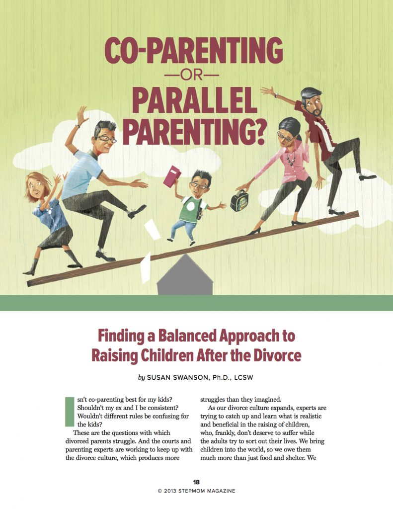 Co-Parenting or Parallel Parenting