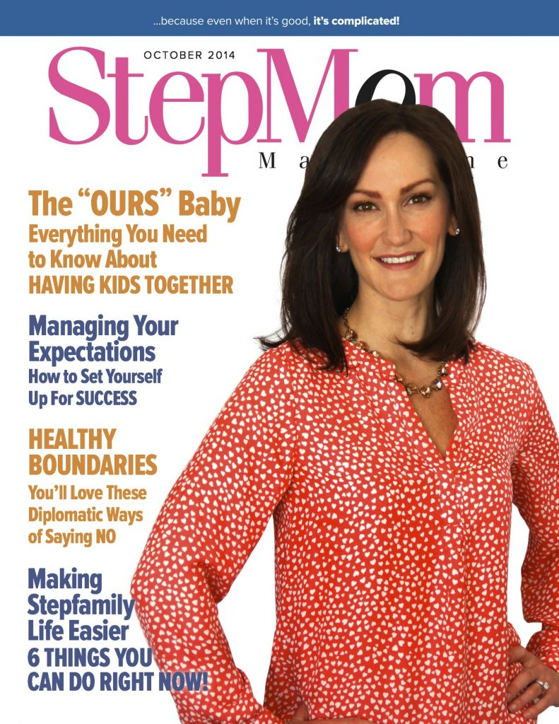 StepMom Cover Girl October Issue