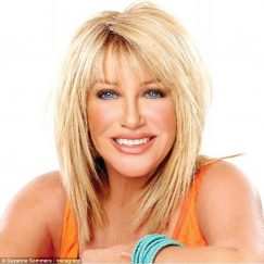 celebrity stepmom suzanne somers