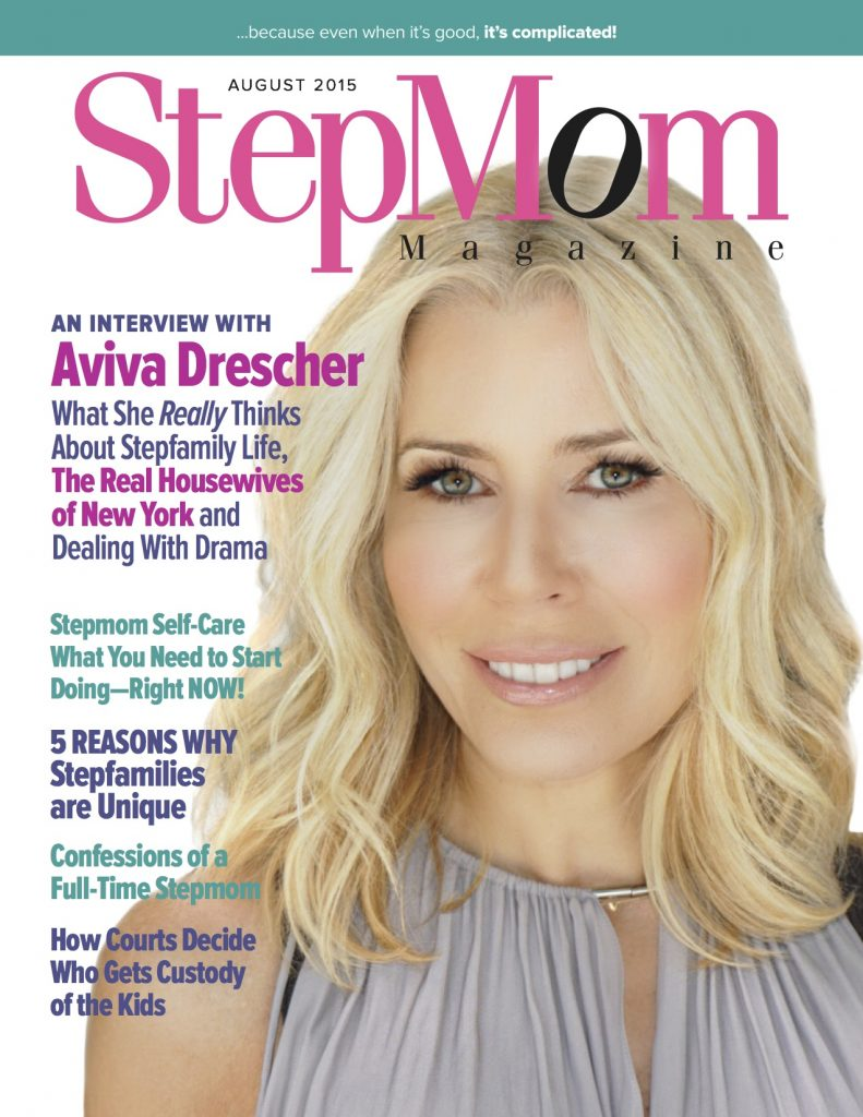 StepMom Magazine August 2015