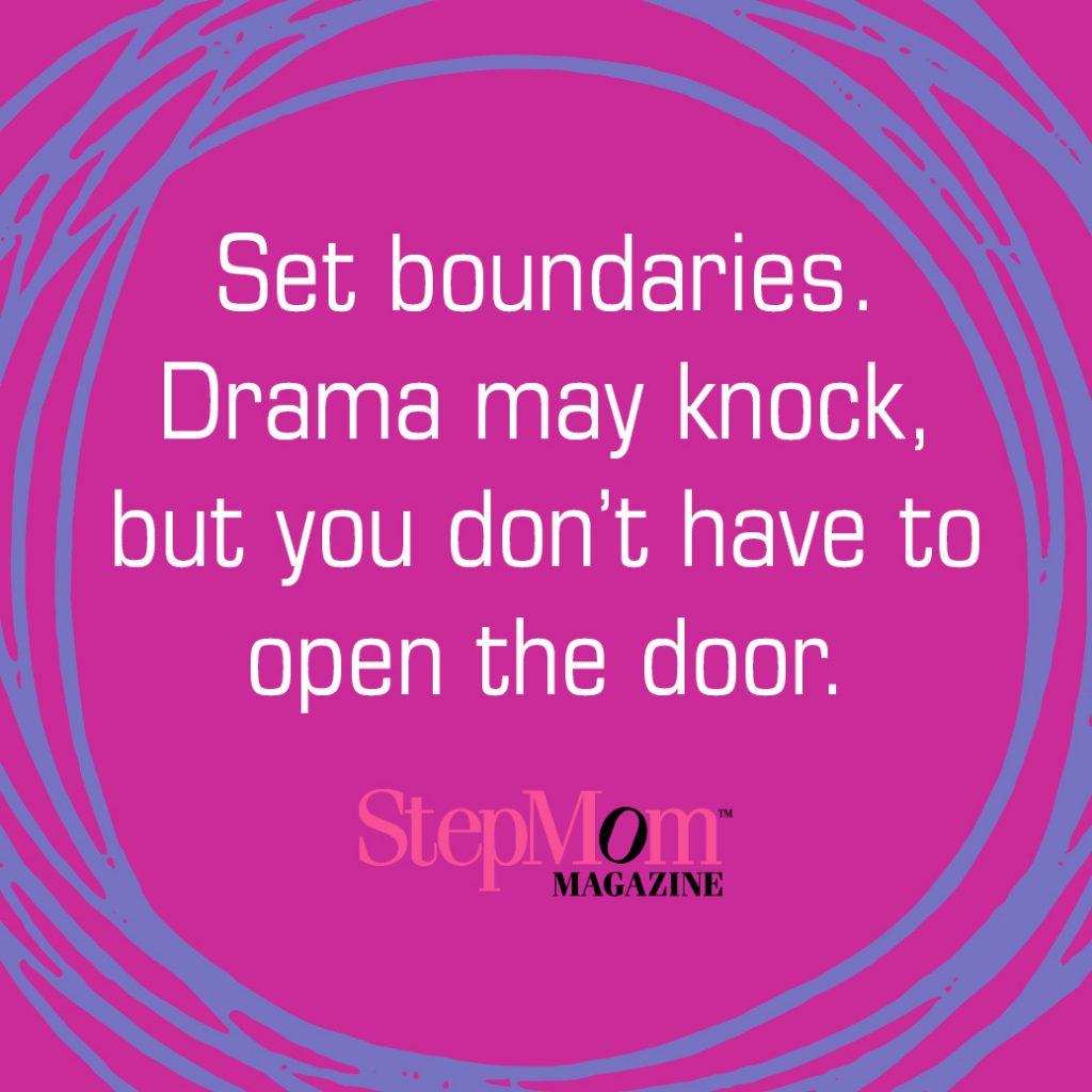 Stepmom Boundaries