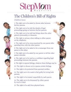 childrens bill of rights