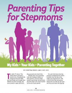 Parenting Tips for Stepmoms