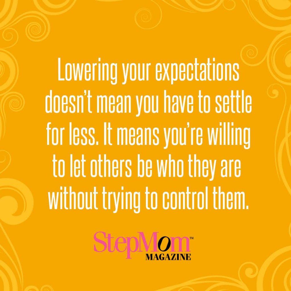 stepmom expectations