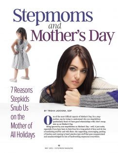 Stepmoms and Mother's Day