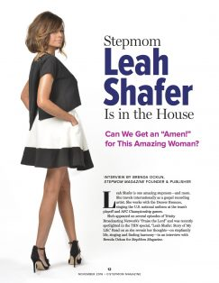 Stepmom Leah Shafer
