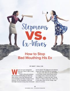 Stepmoms vs Ex-Wives