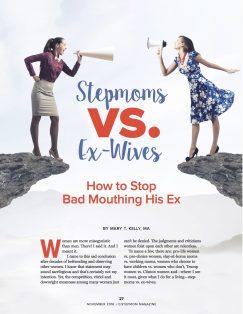 Stepmoms vs Ex-Wives