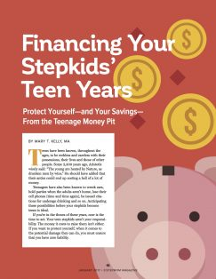 Teen Stepkids and Money