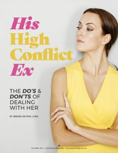 His High Conflict Ex