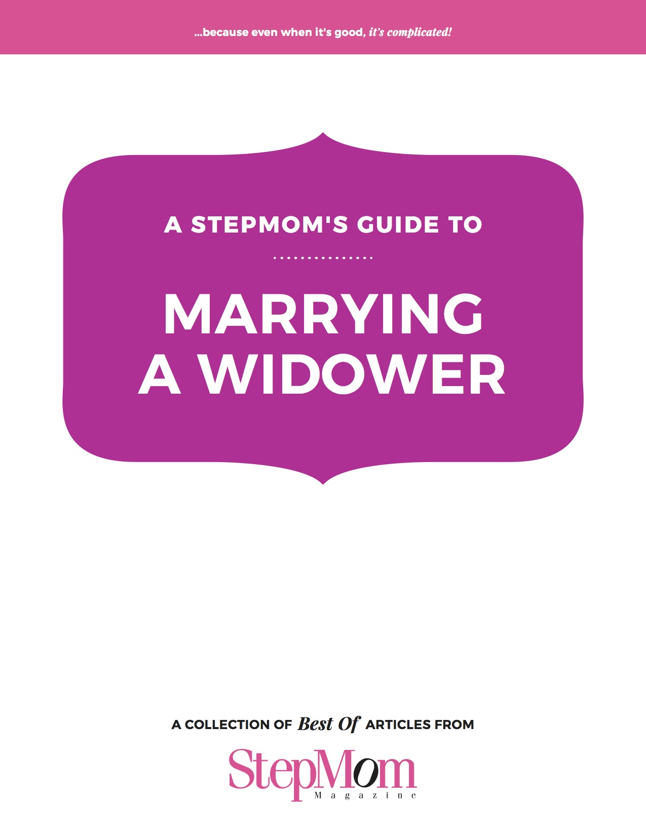 Marrying a Widower