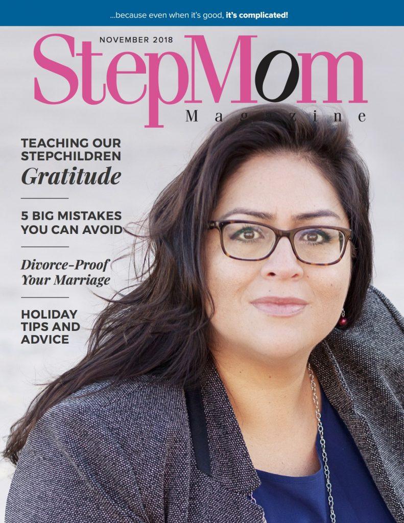 StepMom Magazine November 2018 Cover