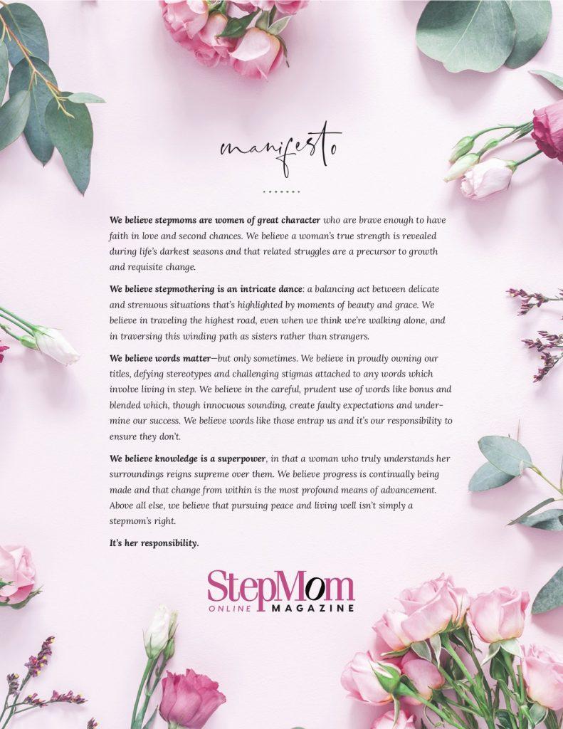 Stepmom Manifesto