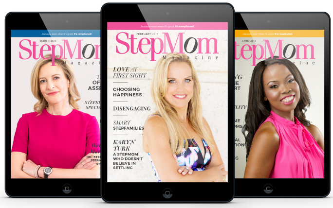 Cover Girl StepMom Magazine