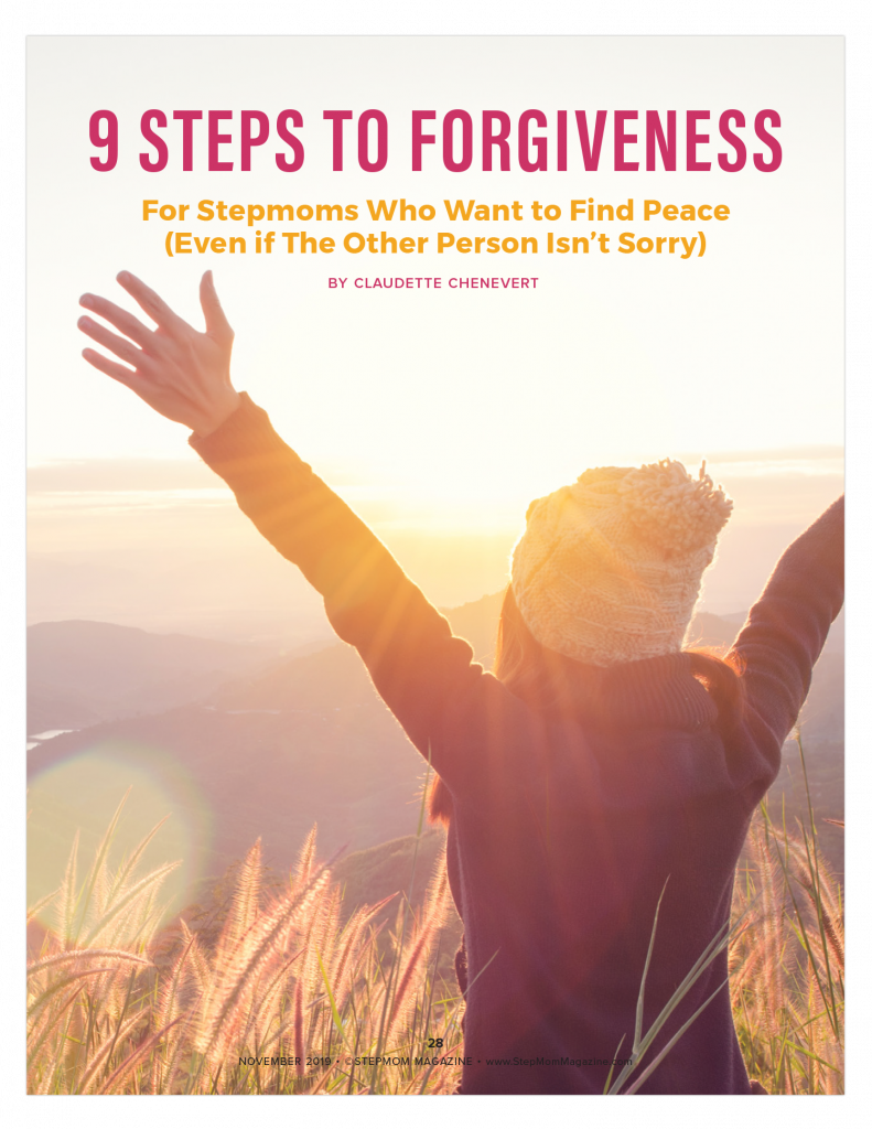 StepMom Forgiveness