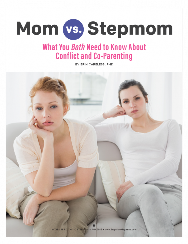 Mom Stepmom Co-Parenting