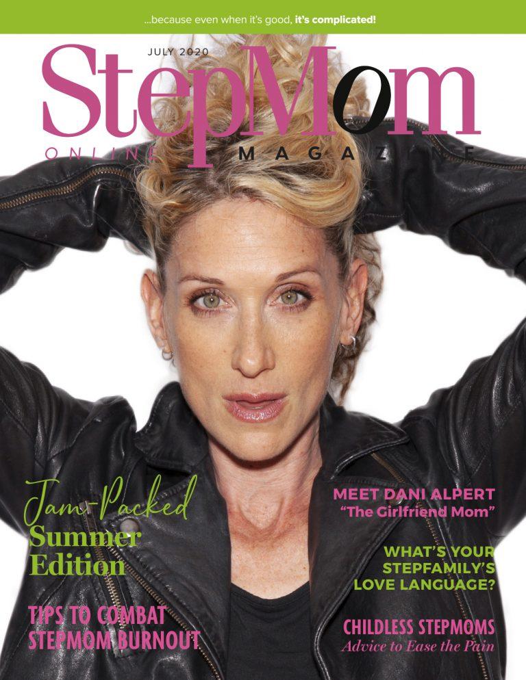 Stepmom Magazine Cover July 2020